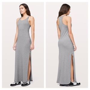 Lululemon Grey Maxi Refresh Dress M